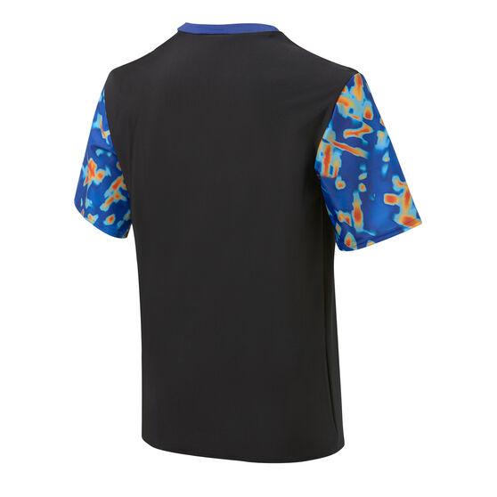 Speedo Boys Leisure Rash Vest Black/Print 6, Black/Print, rebel_hi-res