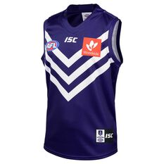 Fremantle Dockers 2020 Kids Home Guernsey Purple 6, Purple, rebel_hi-res