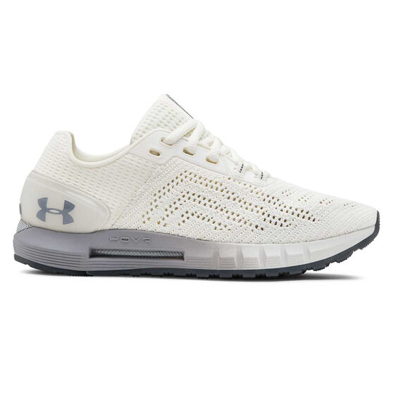Under Armour HOVR Sonic 2 Womens Running Shoes, White / Grey, rebel_hi-res