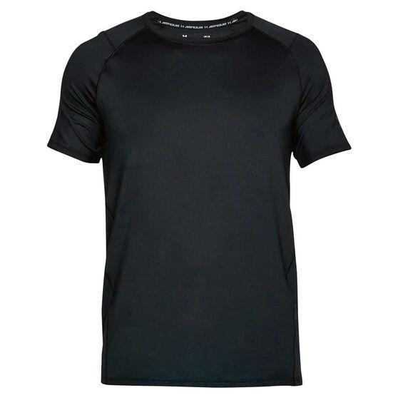 Under Armour Mens Mode Kit 1 Tee, Black / Grey, rebel_hi-res