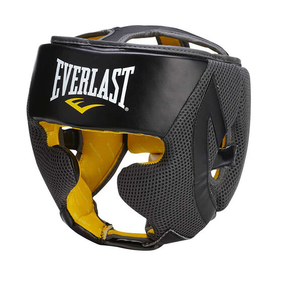 Everlast Evercool Headgear Black / Grey, , rebel_hi-res