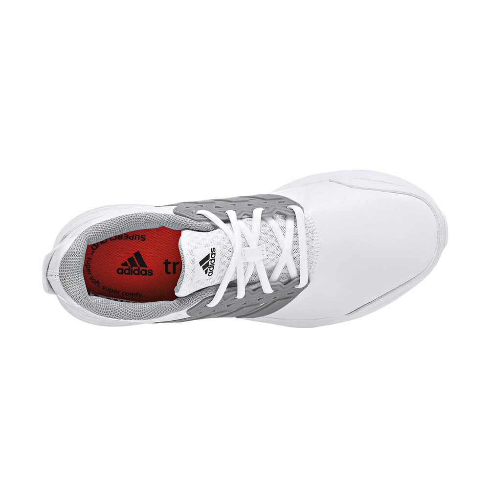 newest b5cbc 4eed7 adidas Galaxy 3 Trainer Mens Training Shoes White  Silver US 10, White   Silver