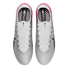 Nike Mercurial Vapor XIII Elite Neymar Jr Football Boots Chrome / Black US Mens 13 / Womens 14.5, Chrome / Black, rebel_hi-res