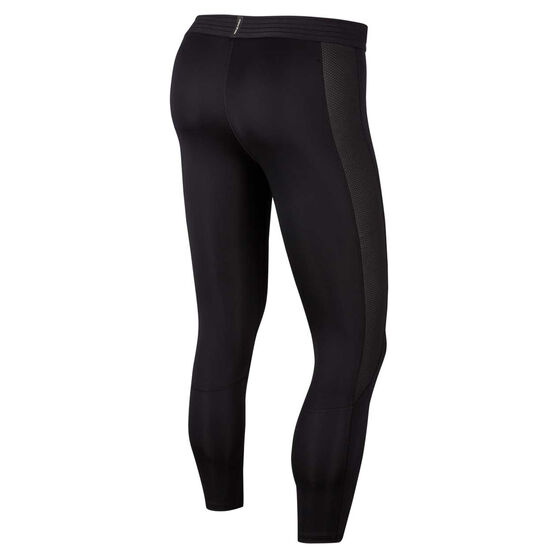 Nike Pro Mens 3/4 Tights, Black, rebel_hi-res