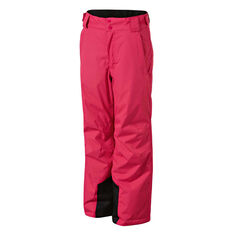 SVNT5 Girls Perisher Pants Pink 4, Pink, rebel_hi-res