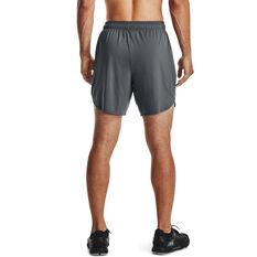 "Under Armour Mens Training Stretch 7"" Shorts, Grey, rebel_hi-res"