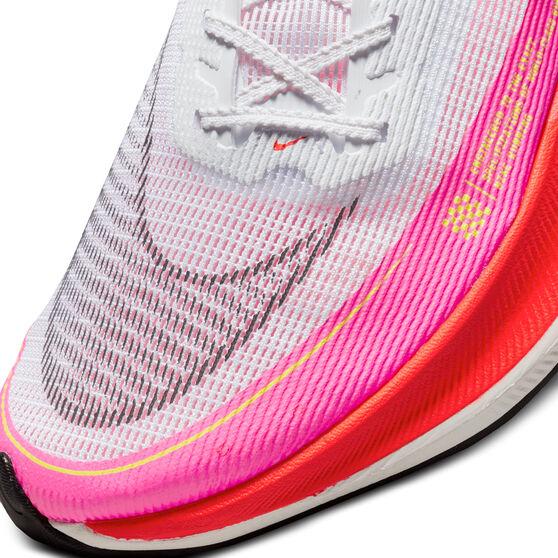 Nike ZoomX Vaporfly Next% 2 Mens Running Shoes, White/Black, rebel_hi-res