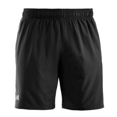 Under Armour Mens Mirage 8in Training Shorts Black / White L Adult, Black / White, rebel_hi-res