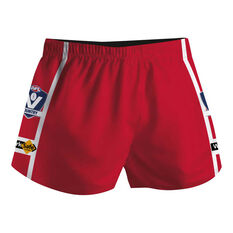 Cougar Sportswear V.C.F.L Training Shorts Red XXL, Red, rebel_hi-res