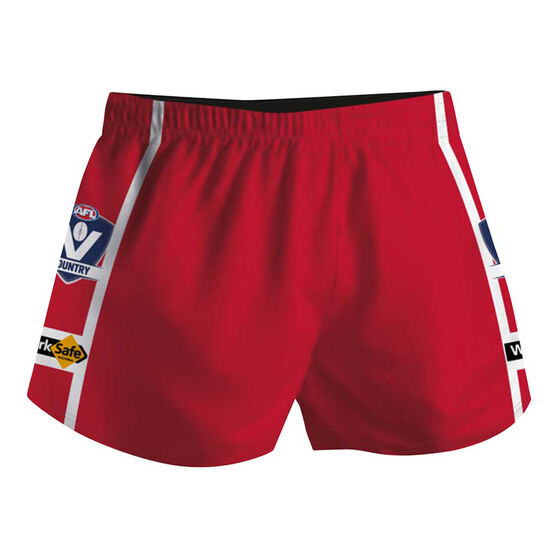 Cougar Sportswear V.C.F.L Training Shorts, Red, rebel_hi-res