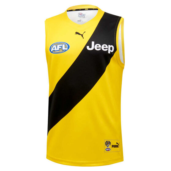 Richmond Tigers 2020 Mens Away Guernsey, Yellow, rebel_hi-res