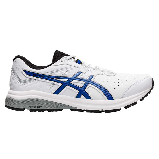 Asics GT 1000 LE 2E Mens Running Shoes, White/Blue, rebel_hi-res