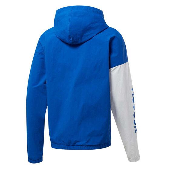 Reebok Mens Training Essentials Windbreaker Blue M, Blue, rebel_hi-res