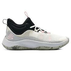 Under Armour Curry HOVR Splash Basketball Shoes White/Black US 7, White/Black, rebel_hi-res