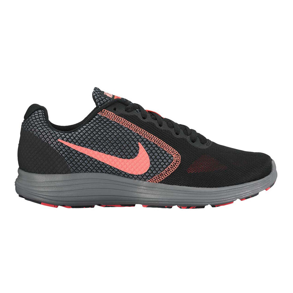 476291033f9d Nike Revolution 3 Womens Running Shoes Black   Pink US 6