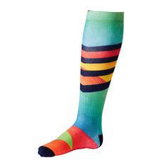 Tahwalhi Mens Sunset Stripe Ski Socks, , rebel_hi-res