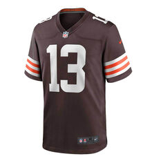 Cleveland Browns Odell Beckham Jr. 2020 Mens Jersey Brown S, Brown, rebel_hi-res