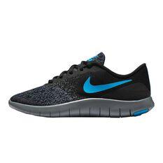 Nike Flex Contact Boys Running Shoes Black / Grey US 4, Black / Grey, rebel_hi-res