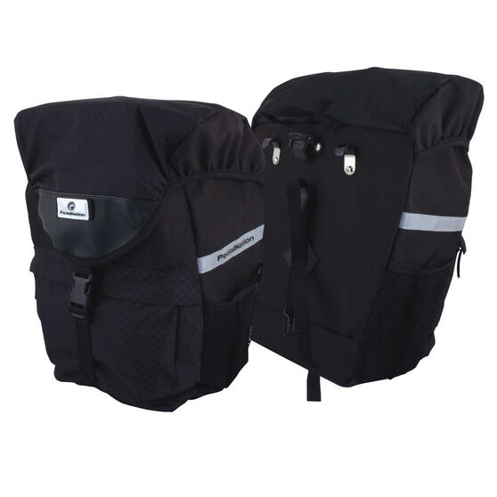 Pedal Nation Quick Release Pannier Bag Black, , rebel_hi-res
