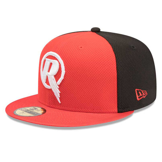 Melbourne Renegades New Era 59FIFTY Home Cap Red 7 1 / 4in, Red, rebel_hi-res