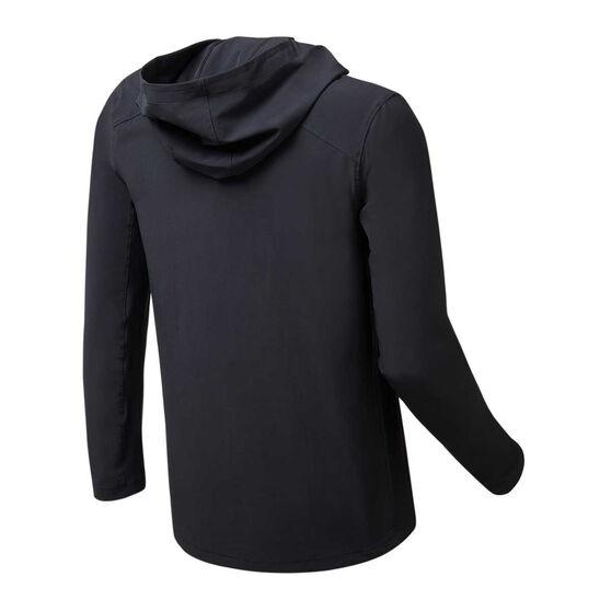 Sydney FC 2019/20 Mens Rain Jacket Black 3XL, Black, rebel_hi-res