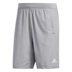 adidas Mens 4KRFT Woven Shorts Grey S, Grey, rebel_hi-res