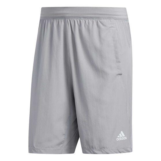 adidas Mens 4KRFT Woven Shorts, Grey, rebel_hi-res