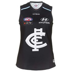 Carlton Blues AFLW 2018 Womens Home Guernsey, , rebel_hi-res