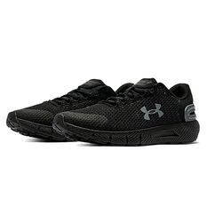 Under Armour Charged Rogue 2.5 Reflect Mens Running Shoes, Black, rebel_hi-res