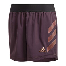 adidas Girls The Future Today AEROREADY Shorts Purple/Gold 6, , rebel_hi-res
