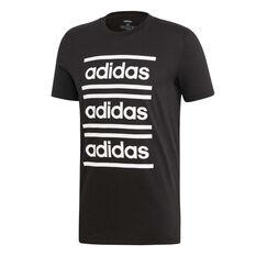 adidas Mens Celebrating the 90s Branded Tee Black / White S, Black / White, rebel_hi-res