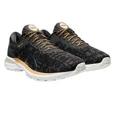 Asics GT 2000 8 EDO Era Mens Running Shoes Black/Grey US 7, Black/Grey, rebel_hi-res