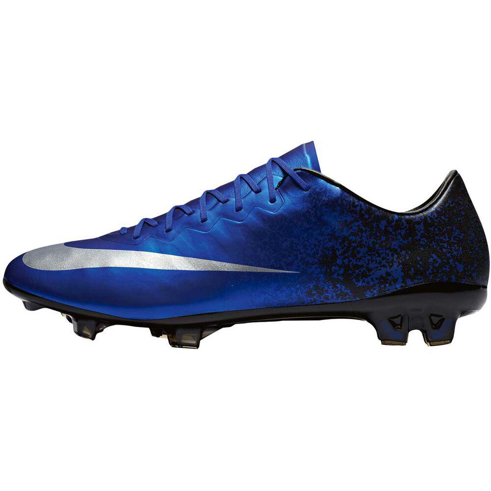 832a3220cb7a Nike Mercurial Vapor X CR7 Mens Football Boots Blue   Silver US 8 Adult