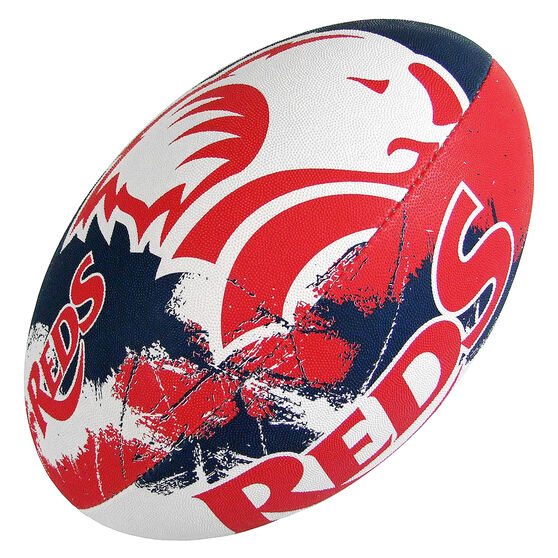 Gilbert QLD Reds Supporter Rugby Union Ball, , rebel_hi-res