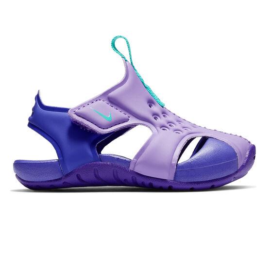 Nike Sunray Protect 2 Toddlers Sandals, Purple, rebel_hi-res