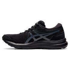 Asics GEL Contend 7 Womens Running Shoes Black/Grey US 6, Black/Grey, rebel_hi-res
