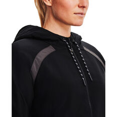 Under Armour Womens UA Sky Insulate Jacket, Black, rebel_hi-res