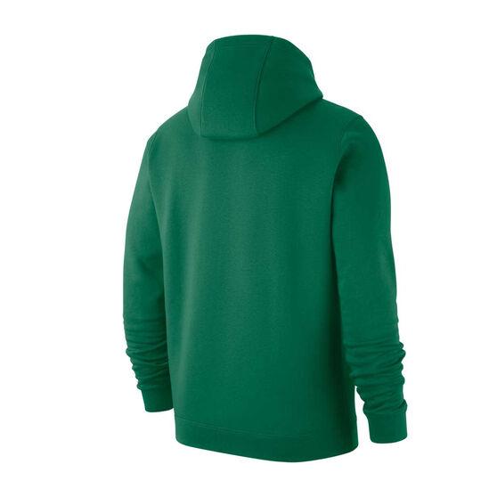 Nike Boston Celtics Mens Club Logo Hoodie, Green, rebel_hi-res