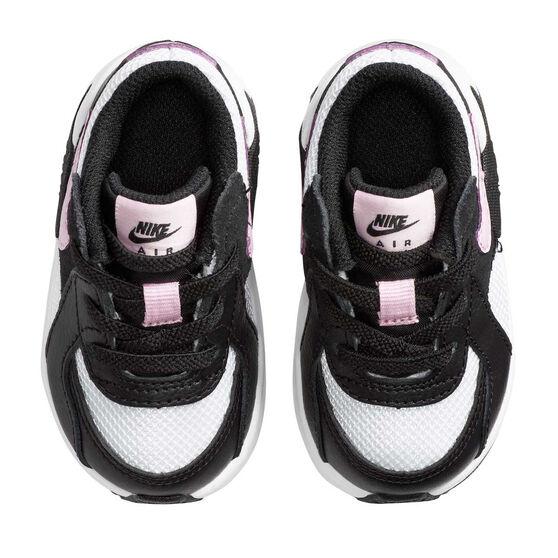 Nike Air Max Excee Toddler Shoes, White/Black, rebel_hi-res