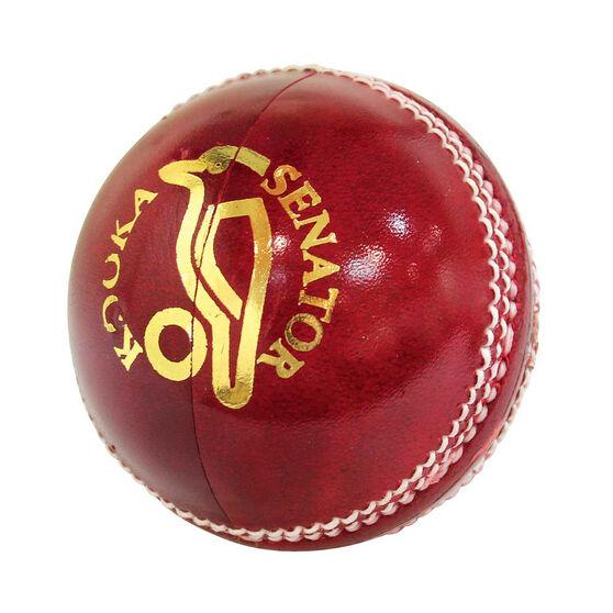 Kookaburra Senator 156g Senior Cricket Ball, , rebel_hi-res
