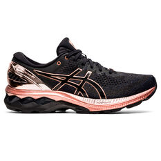 Asics GEL Kayano 27 Womens Running Shoes Black US 6, Black, rebel_hi-res