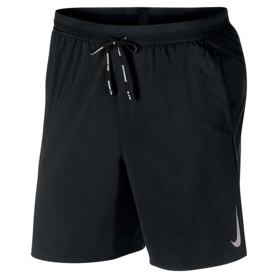 Nike Mens Flex Stride 7in Running Shorts, Black, rebel_hi-res