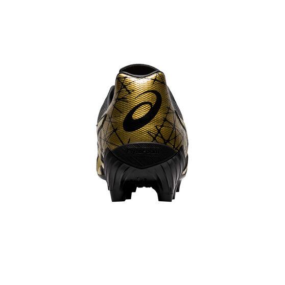 Asics Lethal Tigreor IT Football Boots Black / Gold US Mens 11 / Womens 12.5, Black / Gold, rebel_hi-res