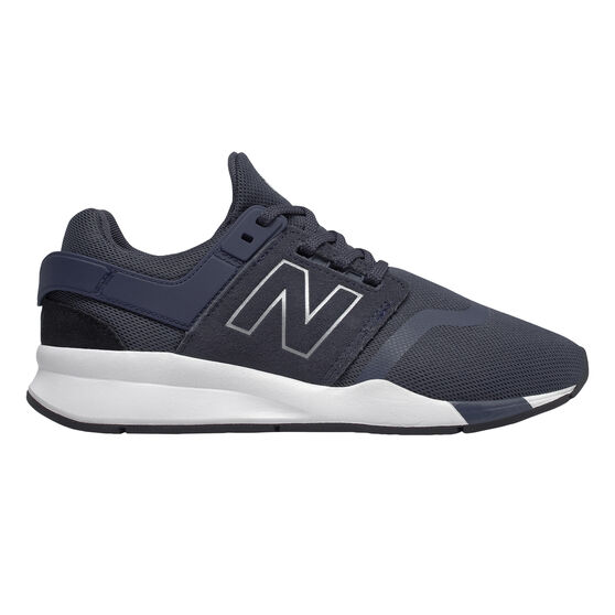 New Balance 247 v2 Kids Casual Shoes, Navy / White, rebel_hi-res
