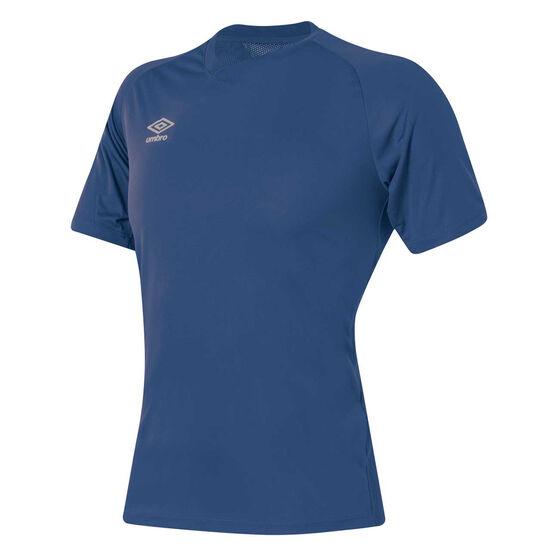 Umbro League Training Knit Jersey, Navy, rebel_hi-res