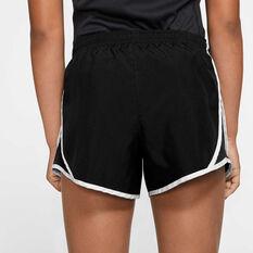Nike Girls Dry Tempo Shorts, Black / White, rebel_hi-res
