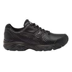 Asics Gel Advantage 3 Mens Walking Shoes Black US 9.5, Black, rebel_hi-res