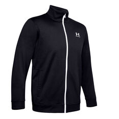 Under Armour Mens Sportstyle Tricot Jacket Black XS, Black, rebel_hi-res