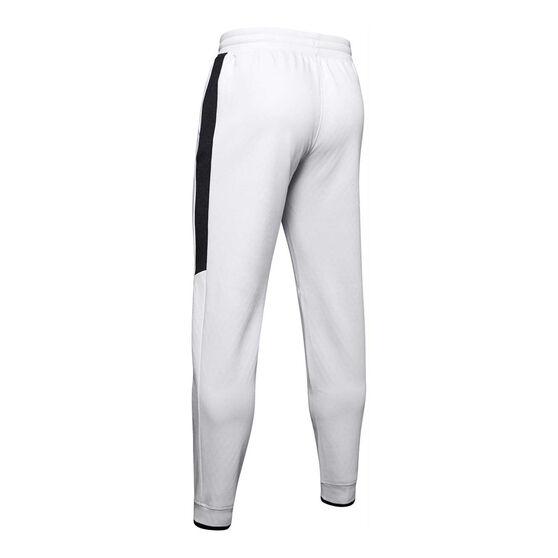 Under Armour Mens Recover Fleece Track Pants, Grey, rebel_hi-res