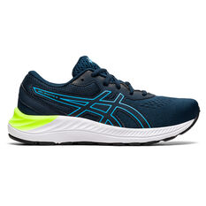 Asics GEL Excite 8 Kids Running Shoes Navy/White US 4, Navy/White, rebel_hi-res
